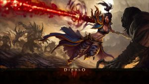 Diablo 3 Wizzard Wallpaper by Garvandule