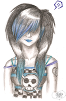 Scene Girl by A-McQ