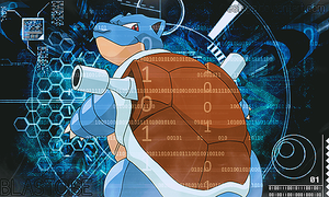 Blastoise Tech by GokuDesings