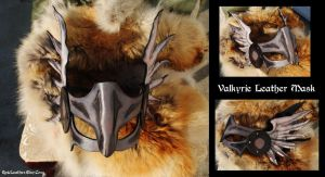 Valkyrie Leather Mask by Epic-Leather