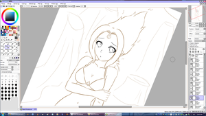 Stop looking at me like that! Flame Princess WIP by jetfree730