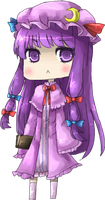Chibi Patchouli by Lirinu