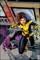 ShadowCat Colored.. by TV-TonyVargas