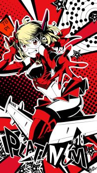 Elementaria X - Nr. 78 Platinum (Persona 5 style!) by PrivateCaller