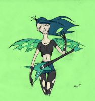 Queen Chrysalis humanized by stuka1991