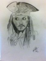 Jack Sparrow by SophieAnna97