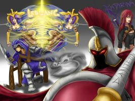 LoL Assassins Fanart Talon LB Panth Kat by Kaiser-jiM