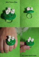 Mini-Totoro Ring Accessory by lkcrafts