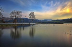 Polifitos Lake V by Chris-Lamprianidis