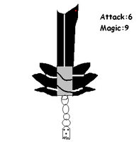 my Keyblade(Ghostdude) by FunnyGamer95