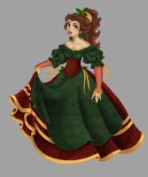 Belle . Christmas Dress by Opal-I