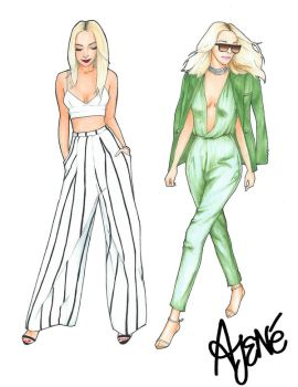 Fashionista Collection | Antoinette Marie by skitzzles