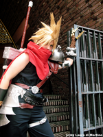 Cloud strife-KH I by Tenraii