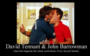 David tennant  John barrowman by Ianto-Jones-Forever