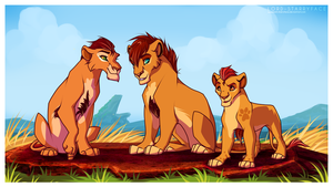 Kion - My Big Brothers Are Awesome~ by Lord-StarryFace