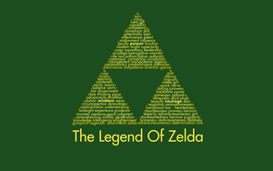 The legend of Zelda Triforce Wallpaper by Kamaltmo