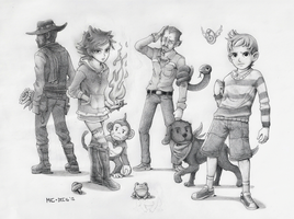 MOTHER 3: The Misfits by mivion