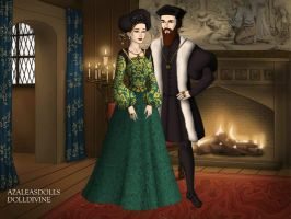 Ferdinand Habsburg and Anna of Bohemia and Hungary by TFfan234