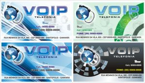 Business Cards Voip by LynckDesign