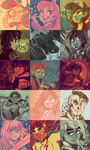 Color Palette Meme by sharkie19
