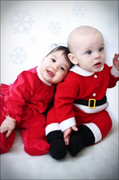 Mr. and Mrs. Baby Claus by busyEXPERIENCE