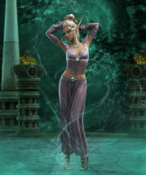 Magic Dancer by LillithI
