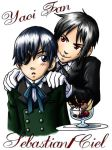 Black Butler Badge by ScuttlebuttInk