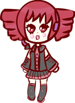 Kawaii Kasane Teto Chibi by Faery-Rainbow