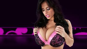Wendy Fiore Exxtreme Cleavage Wallpaper by SamuraiSociety