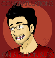 Congrats on 3 Million you nerd by LowRend
