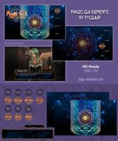 Magic GUI Image Pack for Ren'Py by Fylgjur