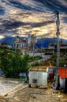 construction site hdr by Piddling