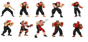Street Fighter Alpha 3 Edits by IrregularHunterZeroX
