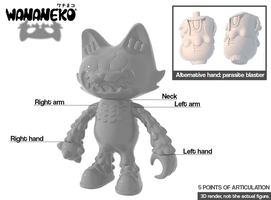 Making a Japanese soft vinyl toy! Wananeko! by ExoesqueletoDV
