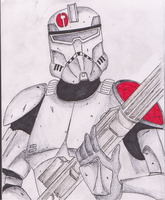 Commander Neyo clonetrooper by Funtimes