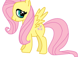 Fluttershy T_T by TheFluffyFoxeh