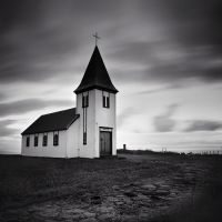Hellnar Church by sensorfleck