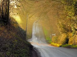 Countryside Road - Original by Its-Only-Stock