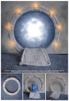 If Stargate Was Made of Yarn by siniart