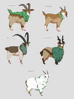 Gogoat Variations by backinthefarm