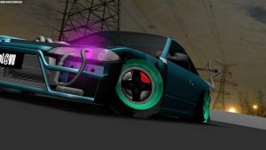 240sx is ready to drift by lilyoshi24