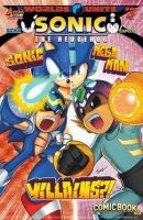 Sonic and Mega Man VILLAINS! by scourgemightyfan