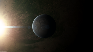 Gliese 581 c 2560x1440 by TRAEMORE