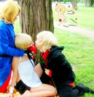 APH + Frenc Cupid was here + by Hancee
