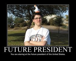 Future President by Balddog4