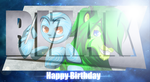 B-day gifty for Bazikg by GaudiFanYAY