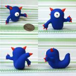Benni the Timid Monster by TimidMonsters