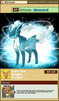 DATA: E-07 .:GLACEON-E:. by PEQUEDARK-VELVET