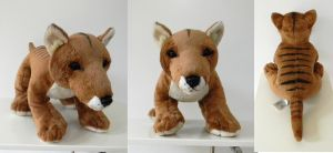 Build-A-Bear Workshop Tasmanian Wolf by Sariti