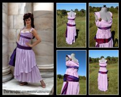 Megara Dress and Cosplay by Durnesque